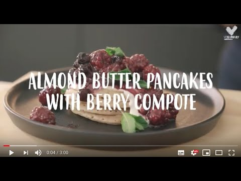 vegan-almond-butter-pancakes-with-berry-compote---rebel-recipes