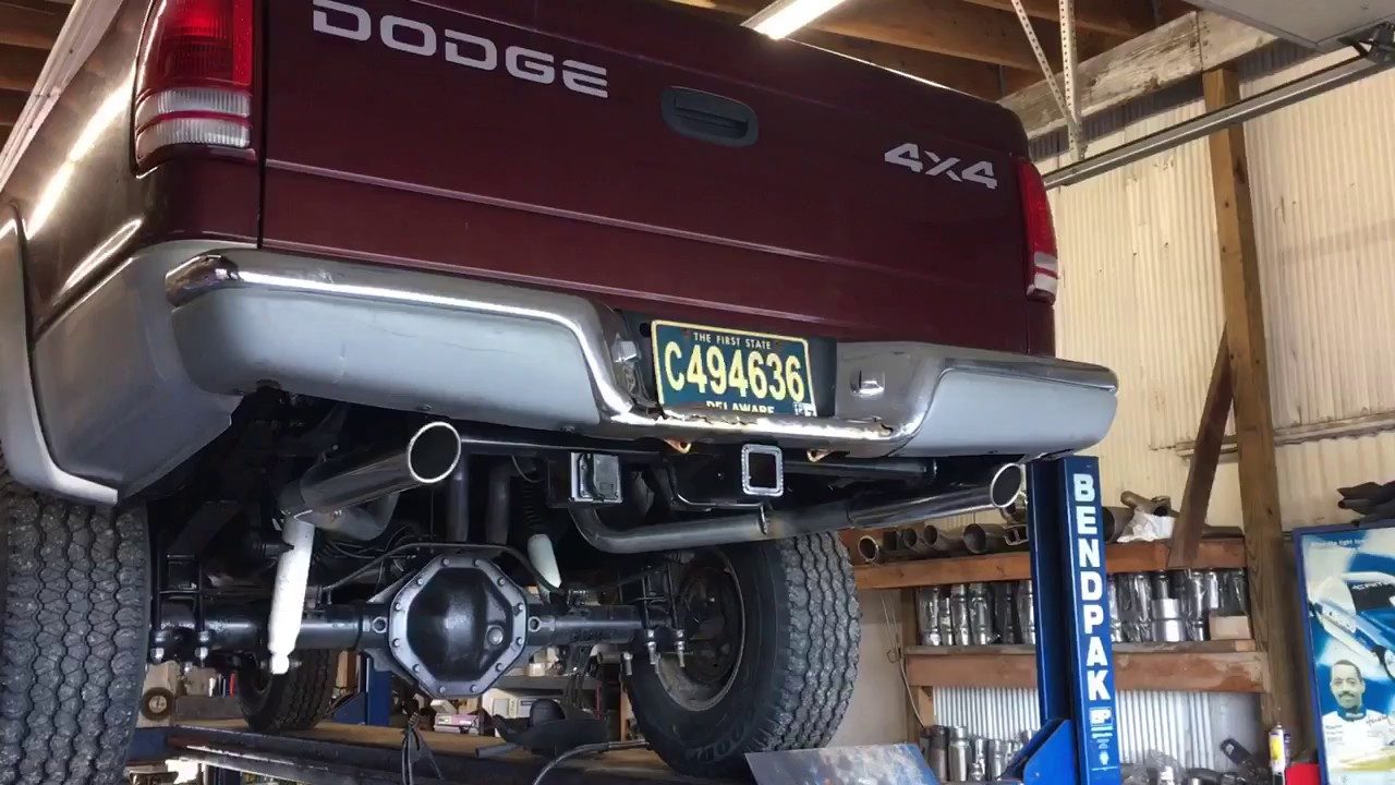 2000 dodge dakota exhaust [ 1280 x 720 Pixel ]