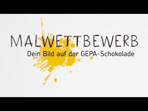 Sternsinger-Malwettbewerb: Dein Bild auf der GEPA-Schokolade