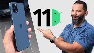 وأخيراً رسمياً اندرويد 11 وايفون 12 !