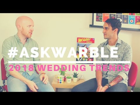 Wedding Entertainment Trends for 2018 // What's Hot & What's Not // #AskWarble