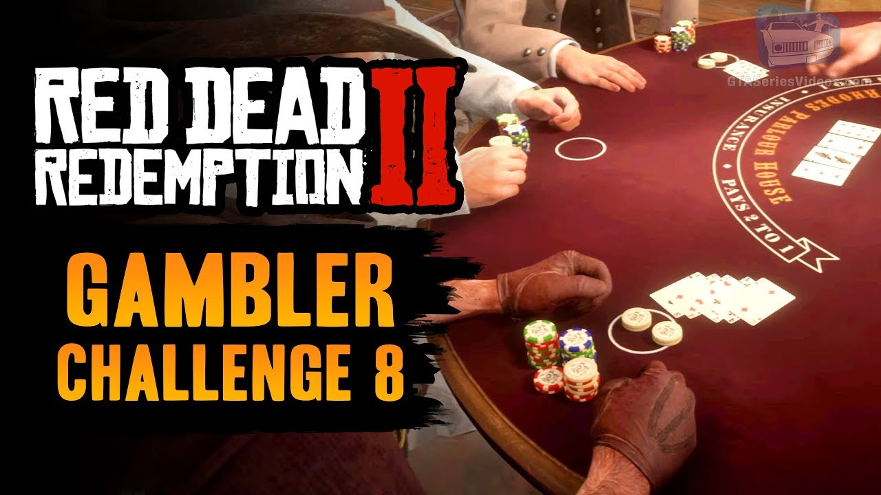 Red Dead Redemption 2 Gambler Challenge #8 Guide - Win 3 hands of Blackjack with 3 hits or more