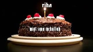 joyeux anniversaire Riha