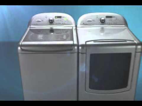 Lavadora y secadora cabrio youtube - Lavadora y secadora en columna ...