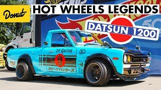 Radical Datsun 1200 wins in Dallas at Hot Wheels Legends Tour | Donut Media