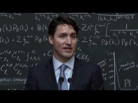 Prime Minister Justin Trudeau Explains Quantum Computing
