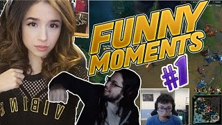 LOL FUNNY MOMENTS #1- STREAM FUNNY MOMENTS - Imaqtpie | Tobias Fate | GOSU | Doublelift | BOXBOX