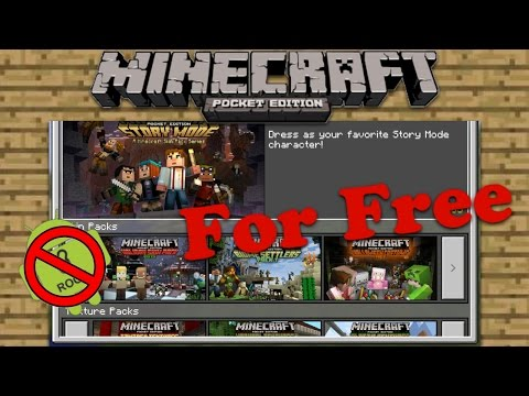 how-to-get-skin-packs-for-free-in-minecraft-pe(no-jailbreak/root)