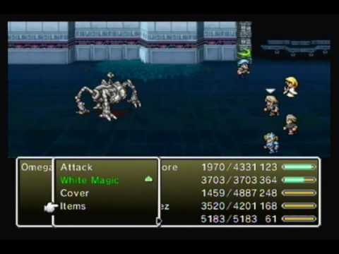 Wiiware Playthrough: Final Fantasy IV- The After Years ~Omega~