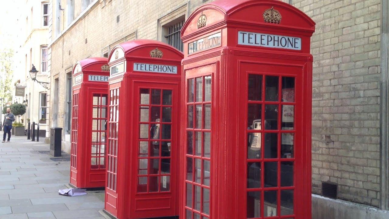 Cabina Telefonica : Historia de las cabinas telefónicas en londres youtube