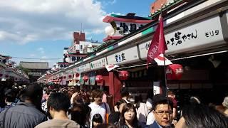 浅草寺、上野公園 Sensoji Temple Senso-ji is not a Shinto shrine, so...