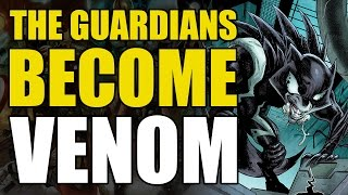 Groot Becomes Venom (Guardians of The Galaxy Vol 4: Planet Symbiote)