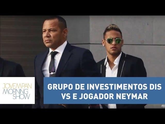 Vini esclarece polêmica entre o grupo de investimentos DIS e jogador Neymar   Morning Show
