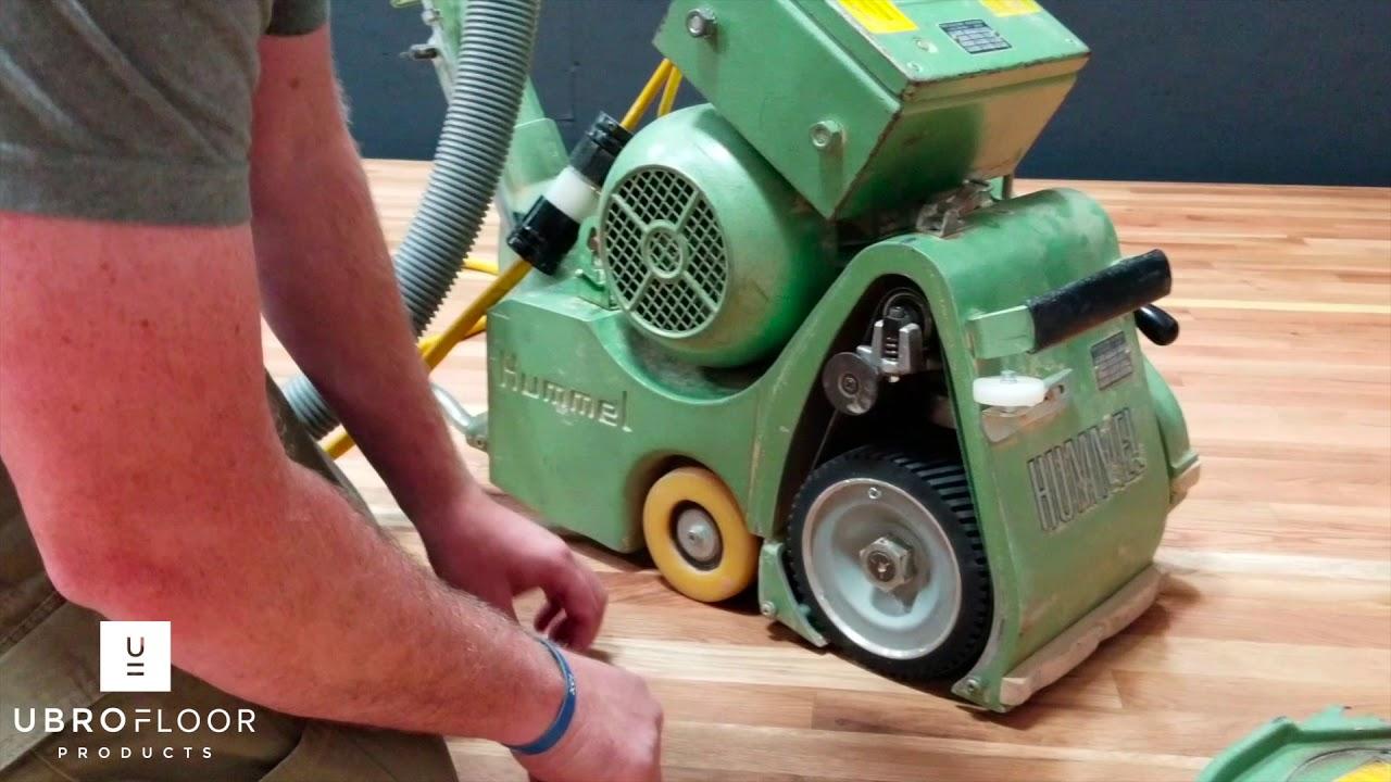 How To Adjust Paper Tracking On Hummel Belt Sander