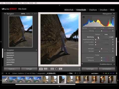 LIK LIGHTROOM Training by Eric Berger 013Tonwertkorrektur