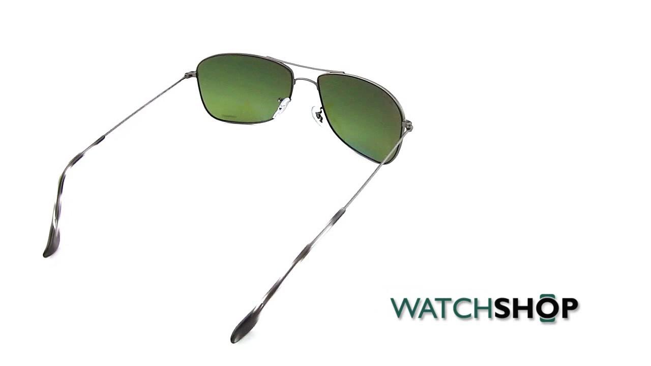 a09d5289606 Ray-Ban RB3543 Chromance Sunglasses (RB3543-029 6O-59) - YouTube