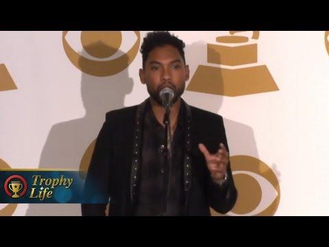 Miguel Talks Girlfriend Nazanin Mandi Album & Keith Urban- 2014 Grammy Nominations Interview Mp3
