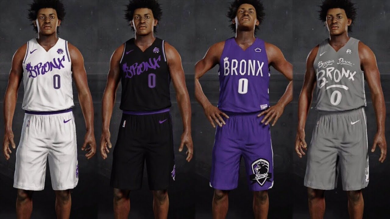 5203c193fab BRONX KINGS ALTERNATE JERSEYS FOR NBA 2K18!!! (COMMENT YOUR FAV) | NBA.city