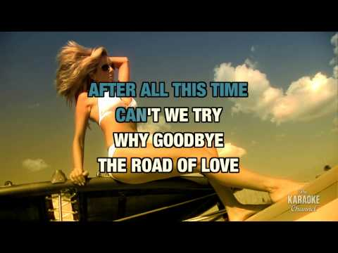 """Why Goodbye in the Style of """"Peabo Bryson"""" with lyrics (no lead vocal)"""