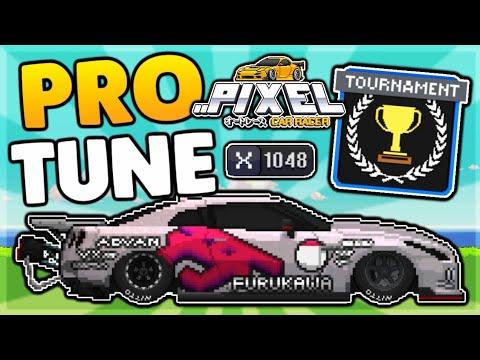 FASTEST GTR TOURNAMENT TUNE | PIXEL CAR RACER