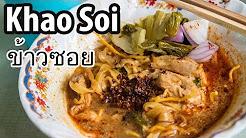 Irresistible Khao Soi (ข้าวซอย) in Chiang Mai