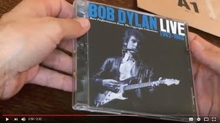 UNBOXING Bob Dylan – Live 1962–1966: Rare Performances from the Copyright Collections