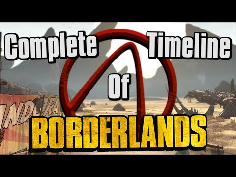 The Complete, Unabridged Timeline of Borderlands