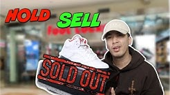 "SOLDOUT FAST !!! JORDAN 5 ""FIRE RED"" HOLD OR SELL"