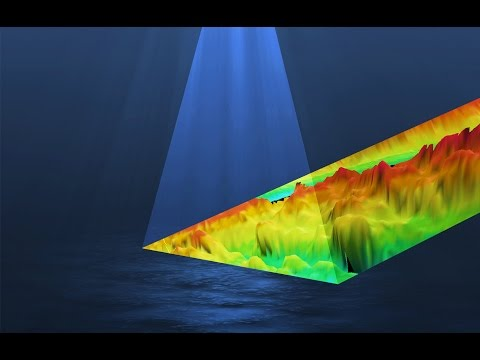Mapping the sea floor with the multibeam echosounder and the Moving Vessel Profiler