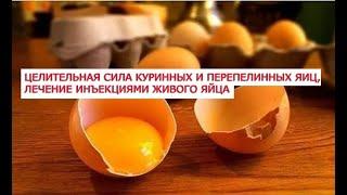 Целительная сила куринных и перепелинных яиц, лечение рака инъекциями живого яйца, 29 народных рецеп(Куриные яйца являются истинным кладезем полезных веществ. Продукт, который человек стал употреблять одним..., 2016-12-24T13:42:46.000Z)