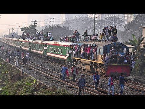 Sonar Bangla Express with PT INKA Rake and EMD locomotive- Bangladesh Railway