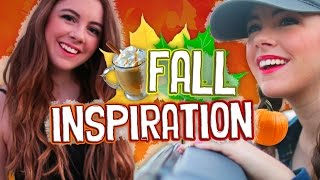 Inspiration for Fall! DIY Drinks, Snacks, Outfit Ideas, & Essentials! // Jill Cimorelli