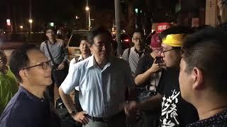 20180913 黃士修絕食抗議,張善政、丁守中前往探視