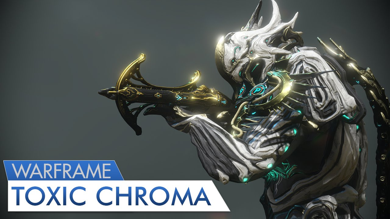 Warframe Stand United Toxic Chroma Youtube