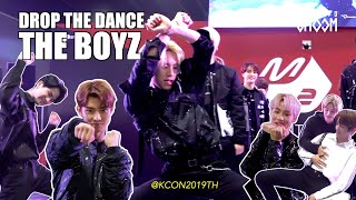 [DROP THE DANCE] THE BOYZ(더보이즈) | CHEER UP/ 날라리 / bad guy / CALL ME BABY / D.D.D etc. @KCON19TH