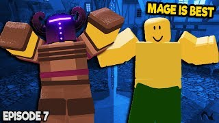 NOOB TO PRO *MAGE IS BEST* IN DUNGEON QUEST ROBLOX