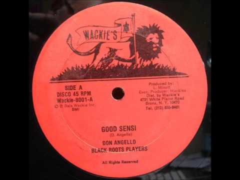 Don Angelo & Black Roots Players - Good Sensi + Dub - 12