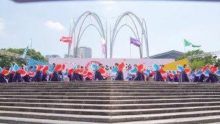 2018年7月15日(日) 第12回よさこい祭りin光が丘公園 ステージ審査会場.