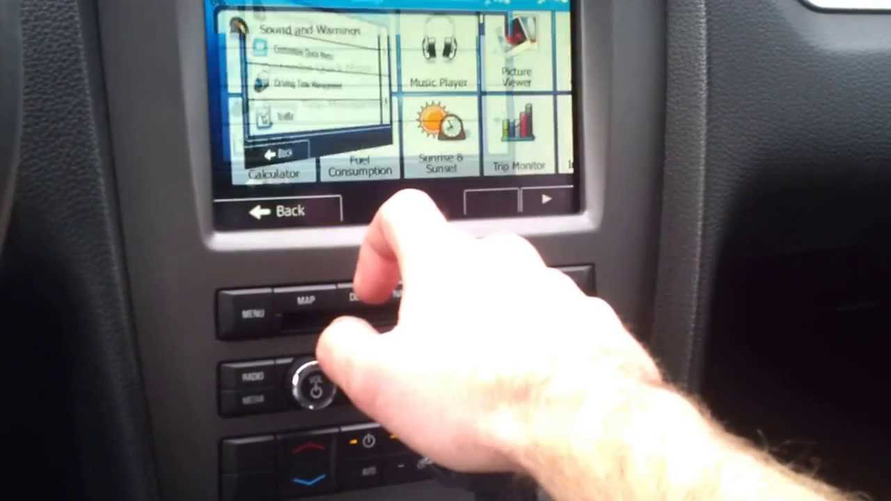 Ford mustang f150 europe navigation