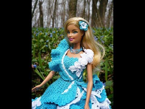 Вязание для Барби - Платья 2019 / Knitting for Barbie ...