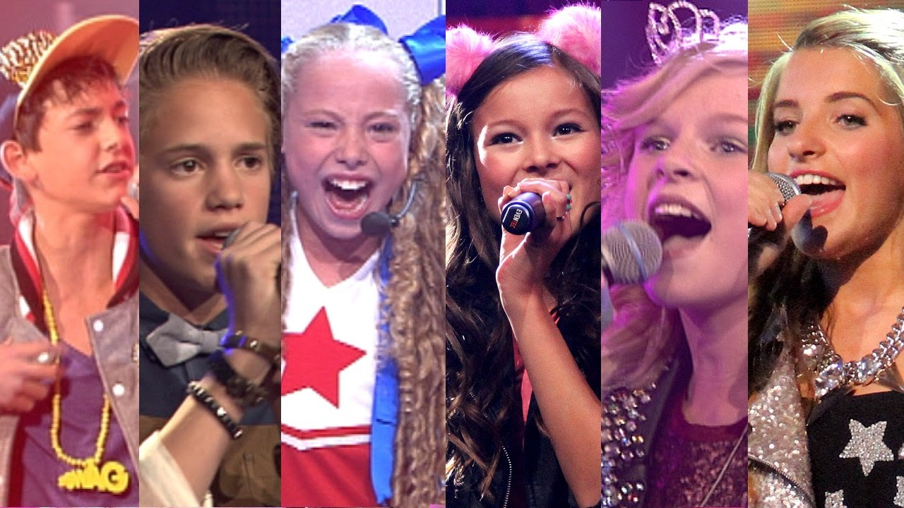 top 10 liveshow optredens junior songfestival