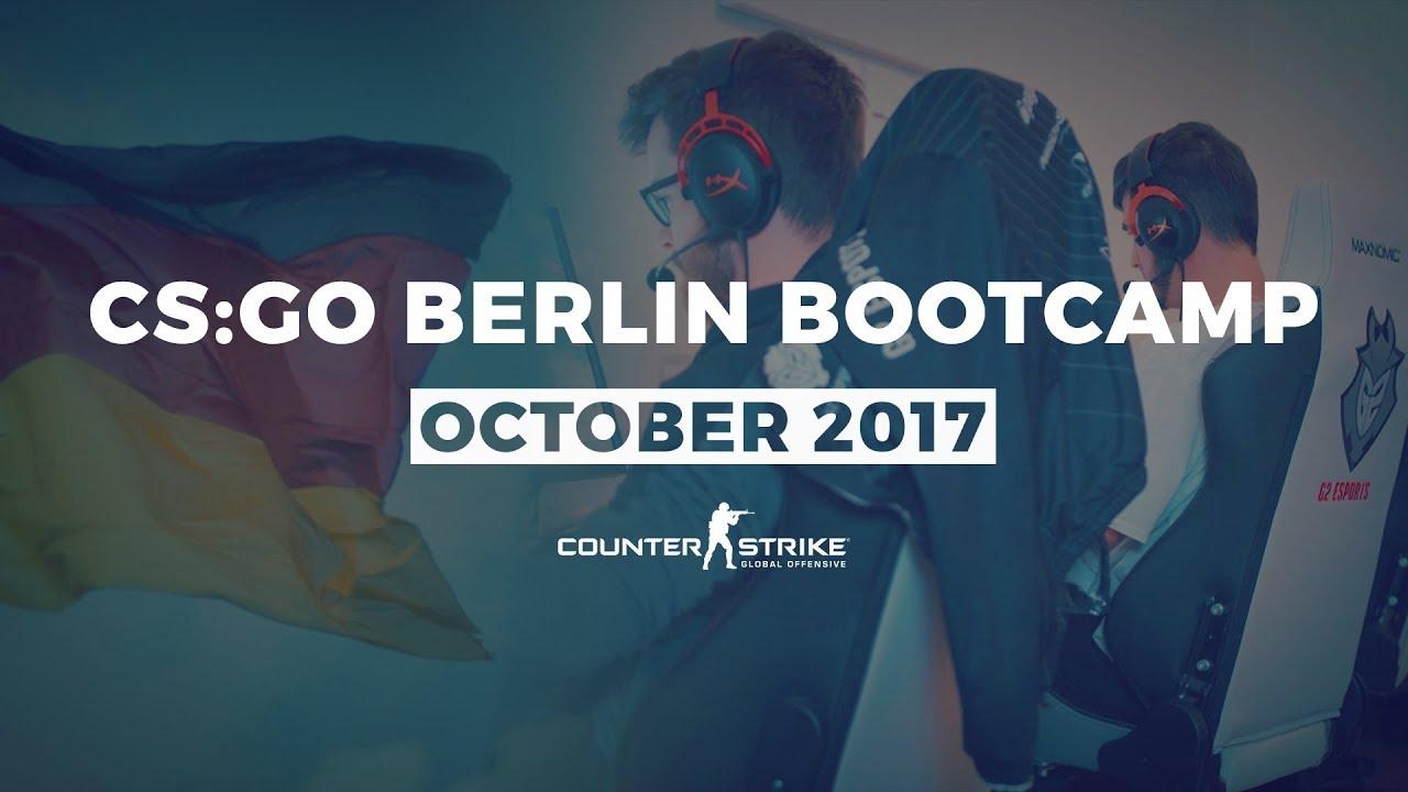G2 Esports: CS:GO Berlin Bootcamp October 2017 - YouTube