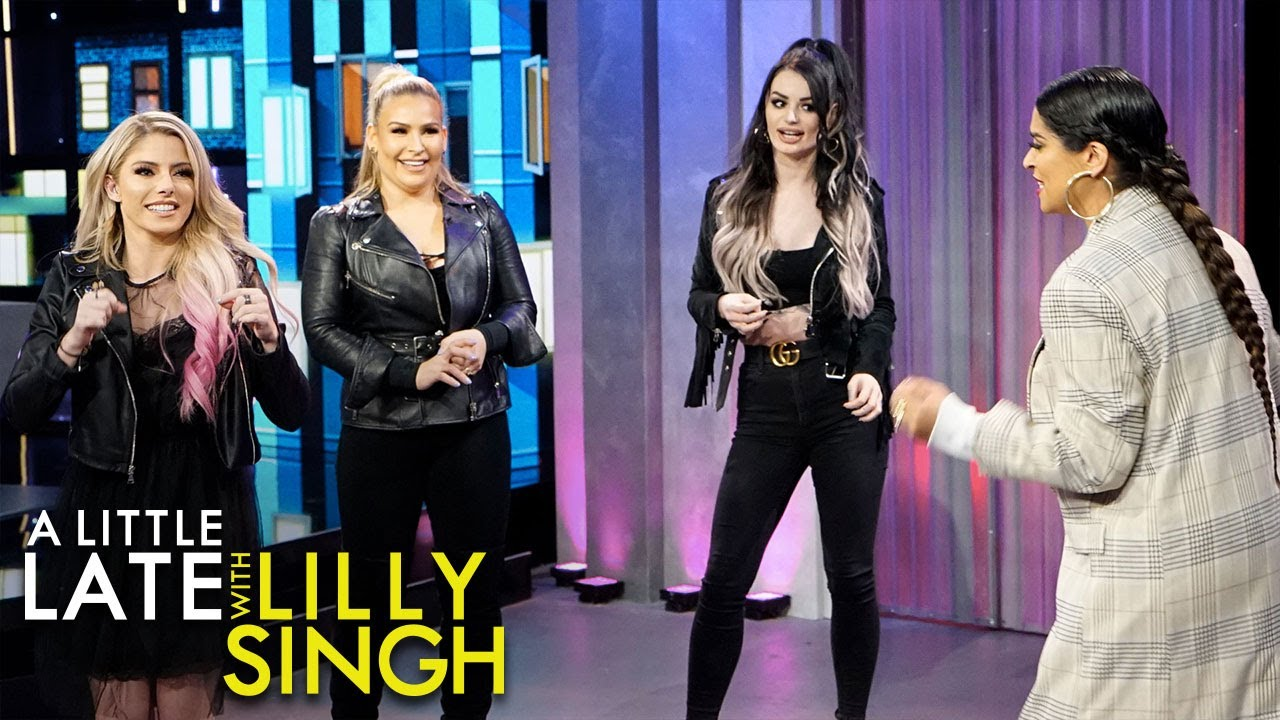 Dancing Clues with Natalya Neidhart, Paige and Alexa Bliss