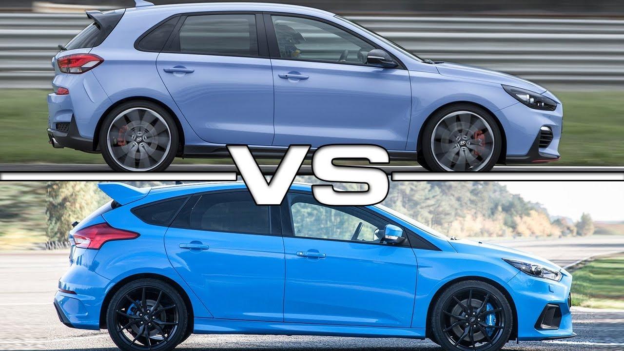 hyundai i30 n vs ford focus st