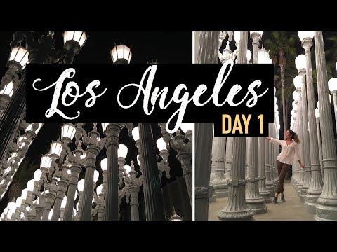 LOS ANGELES 2017 | Day One - Lost and alone in LA, Jollibee, LACMA | @rochazaro | Vlog #9