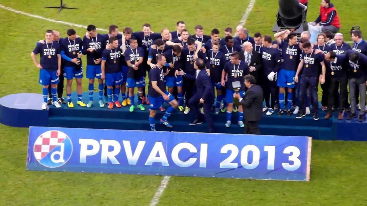 GNK Dinamo Zagreb prvaci 2013 - YouTube