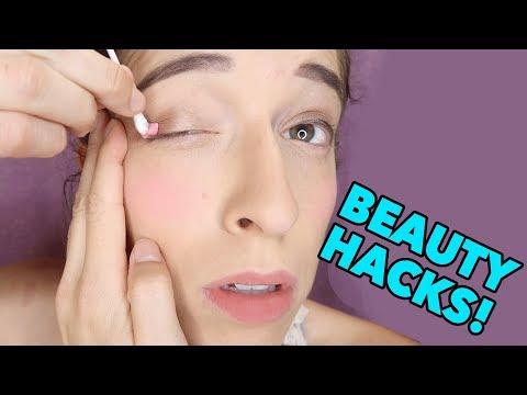 Testing Beauty Tips/Hacks