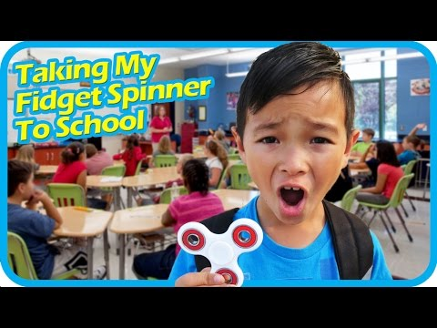Thumbnail: Taking My FIDGET SPINNER to School, School Are Banning the Hottest Toy in the USA – TigerBox HD