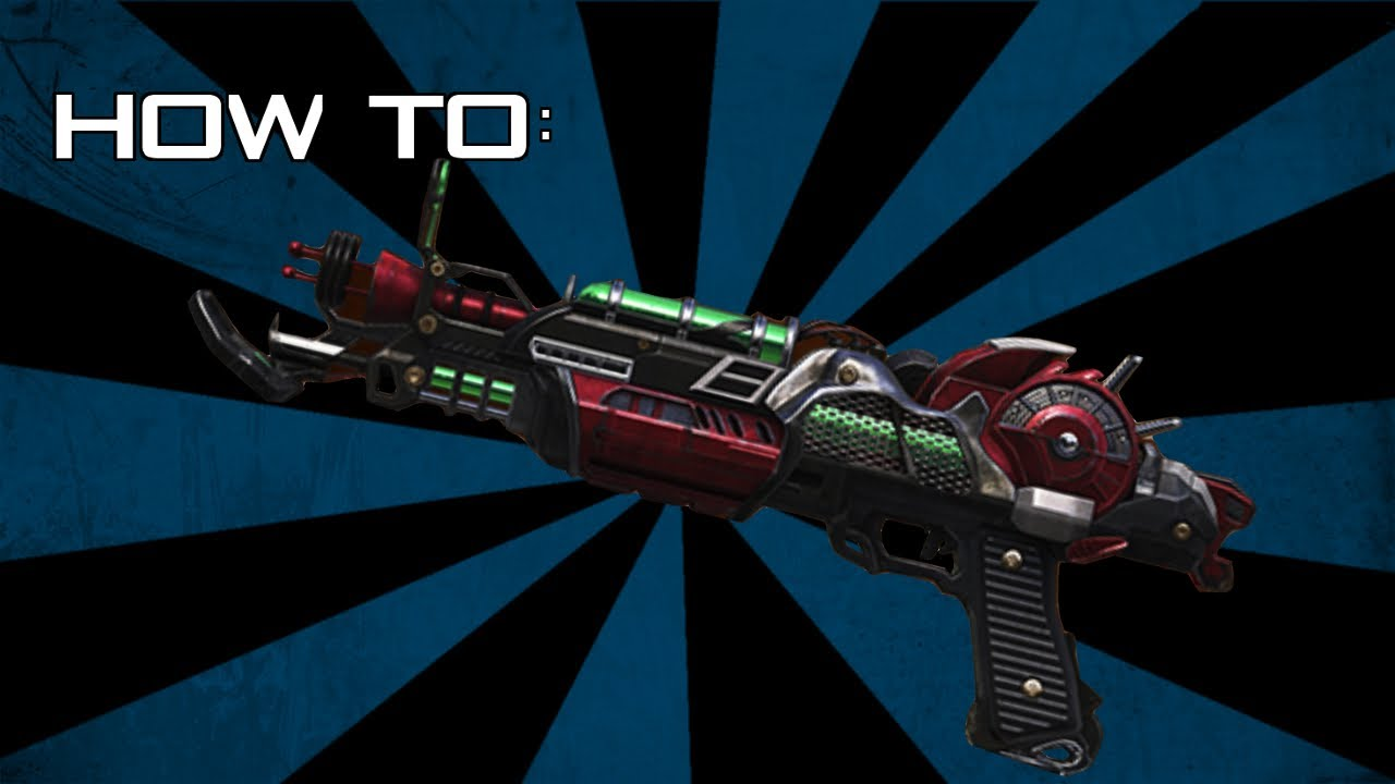 how to build the ray gun mark 2