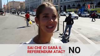 Referendum Atac 11 novembre, questo sconosciuto